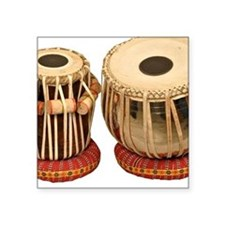 Beautiful Tabla Set Indian Per Sticker