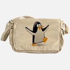 Cute Penguins Messenger Bag