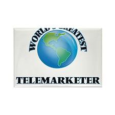 World's Greatest Telemarketer Magnets