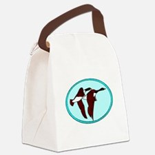Geese Migrating Canvas Lunch Bag