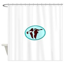 Geese Migrating Shower Curtain