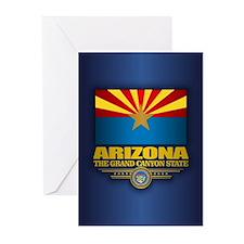 Arizona Flag Greeting Cards