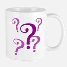 question marks Mugs