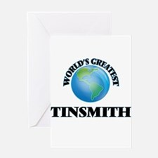 World's Greatest Tinsmith Greeting Cards