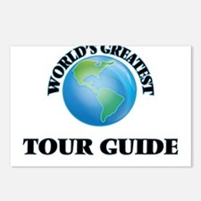 Cute Tour guide Postcards (Package of 8)