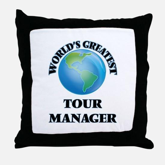 Unique Tours Throw Pillow