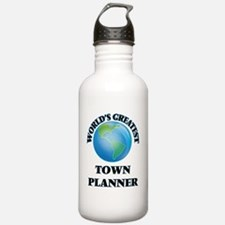Funny Town Water Bottle