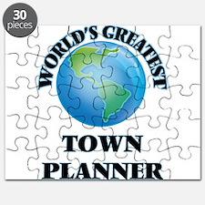 Unique Town Puzzle