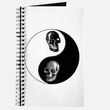 Skull Yin Yang Journal