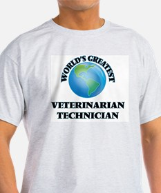 World's Greatest Veterinarian Technician T-Shirt