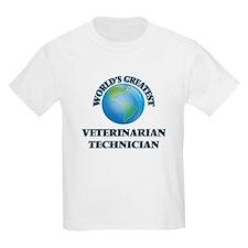 World's Greatest Veterinarian Technician T-Shirt
