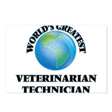 Cute Veterinary technician Postcards (Package of 8)