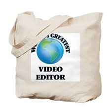 Cute Video editing software Tote Bag