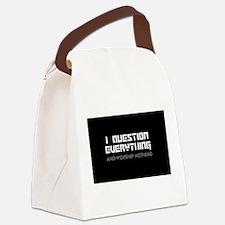 Cute Atheism Canvas Lunch Bag