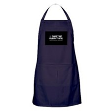 Cute Atheism Apron (dark)