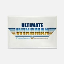 Ultimate Wingman Rectangle Magnet