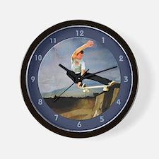 Halfpipe Wall Clock