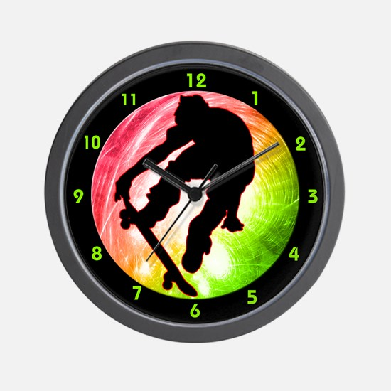 Funny Actions Wall Clock