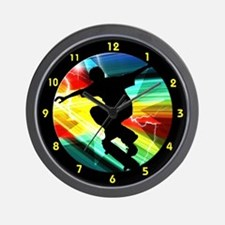 Funny Athletics Wall Clock