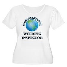 World's Greatest Welding Inspector Plus Size T-Shi