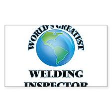 World's Greatest Welding Inspector Decal