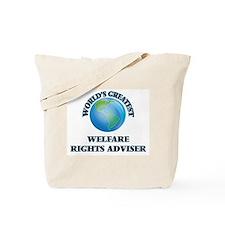 Cute Welfare rights advisers Tote Bag