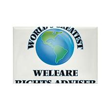 World's Greatest Welfare Rights Adviser Magnets