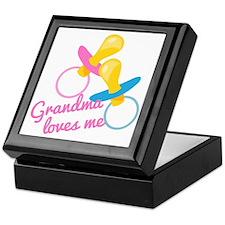 Grandma Loves Me Keepsake Box
