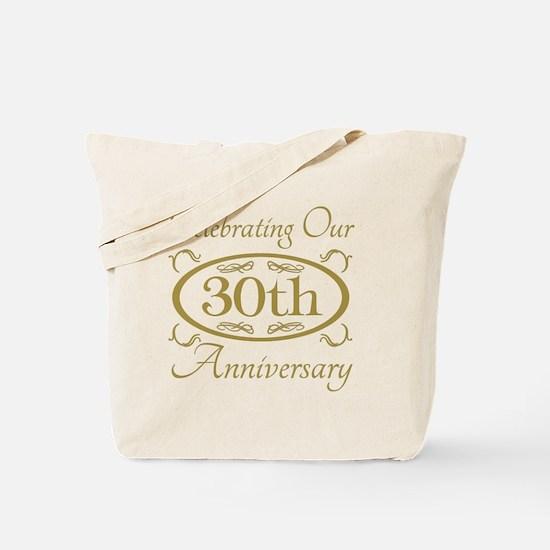 Funny 30th wedding anniversary Tote Bag