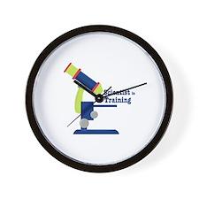 Scientist In Training Wall Clock