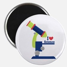 I Heart Science Magnets