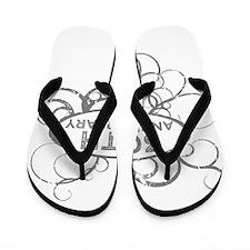 Unique Anniversary Flip Flops