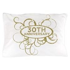 Cool 30th wedding anniversary Pillow Case