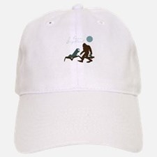 I Love Bigfoot Baseball Baseball Baseball Cap