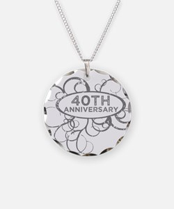Funny 40th Necklace
