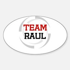 Raul Oval Decal