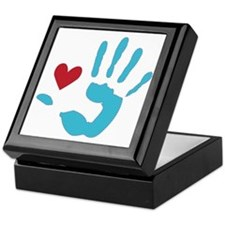 Heart & Hand Keepsake Box
