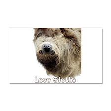 Cute Animal sloth Car Magnet 20 x 12