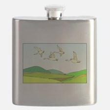 Flying Geese Flask