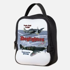 Dogfighters: Spitfire vs Fw190 Neoprene Lunch Bag