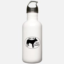 Unique Blue heeler dog Water Bottle