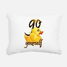 Cute Rubber duck Rectangular Canvas Pillow