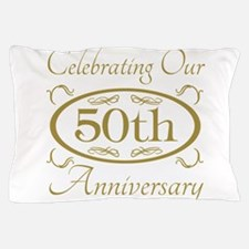 Cute 50th wedding anniversary Pillow Case