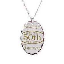 Cute 50th wedding anniversary Necklace