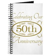 Cute 50th wedding anniversary Journal