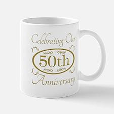 50th Wedding Anniversary Mugs