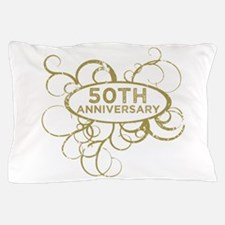 Funny 50th wedding anniversary Pillow Case