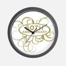 50th anniversary Wall Clock