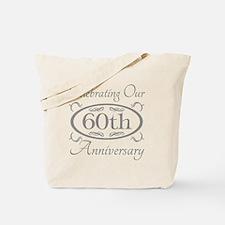 Unique 60th wedding anniversary Tote Bag