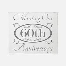 Cute 60th anniversary Throw Blanket